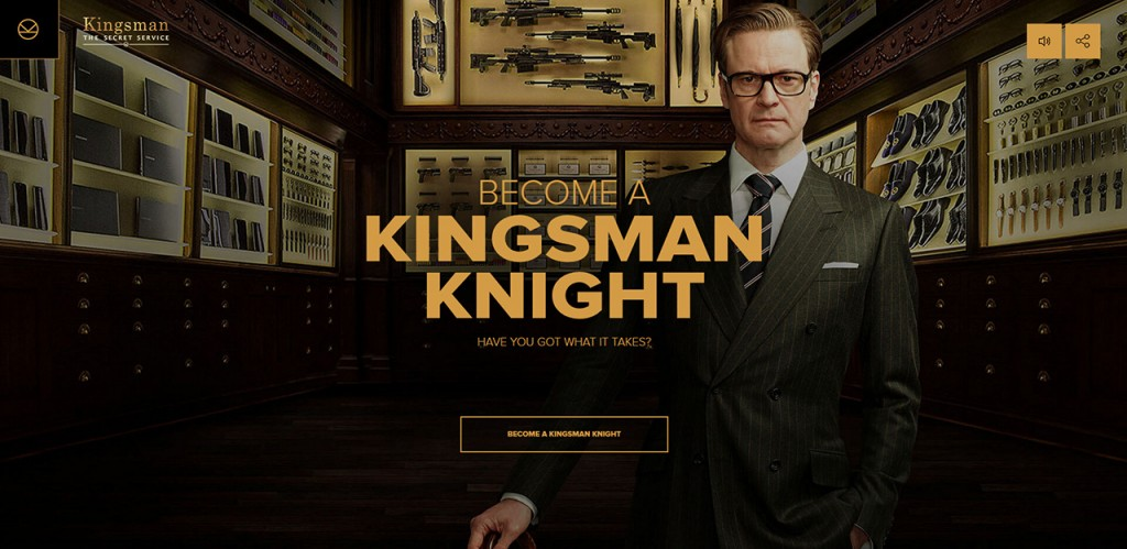 Become a Kingsman Knight