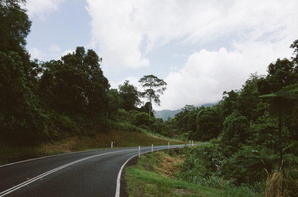 Straßenaufnahme Auslandssemester in Australien